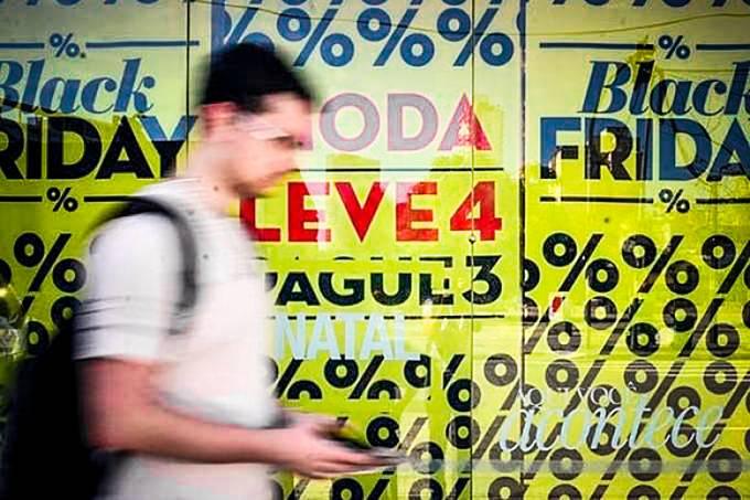Black Friday do Brasil franquias dão vouchers e descontos de até 70%