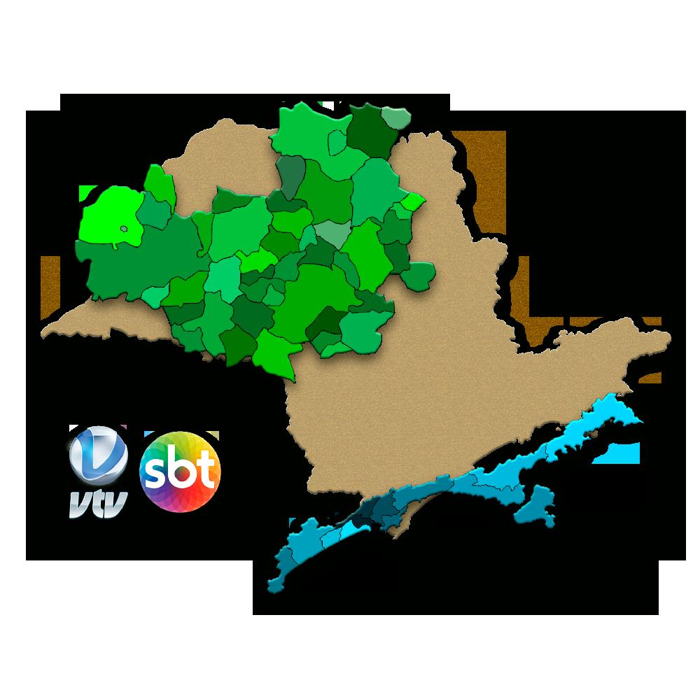 Mapa de Cobertura do Brasil Novas Ideias